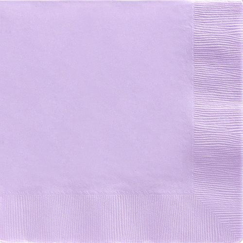 Lavender Paper Dinner Napkins, 7.6in, 40ct Image #1