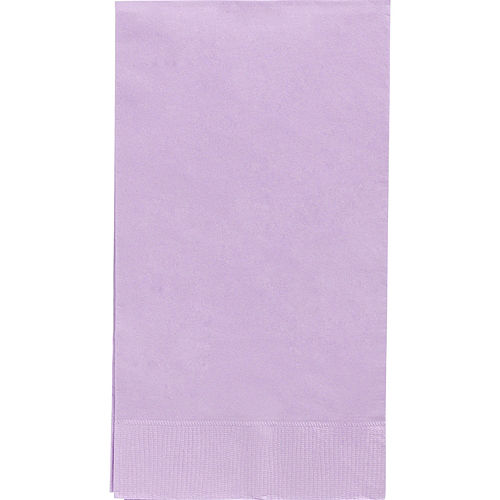 Big Party Pack Lavender Guest Towels 40ct Image #1