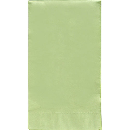 Big Party Pack Leaf Green Guest Towels 40ct Image #1