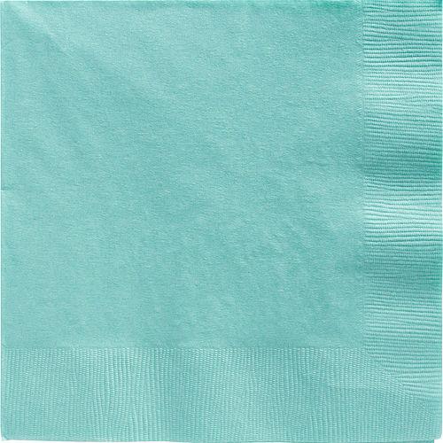 Robin's Egg Blue Paper Dinner Napkins, 7.6in, 40ct Image #1