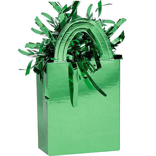 Green Mini Tote Balloon Weight Image #1