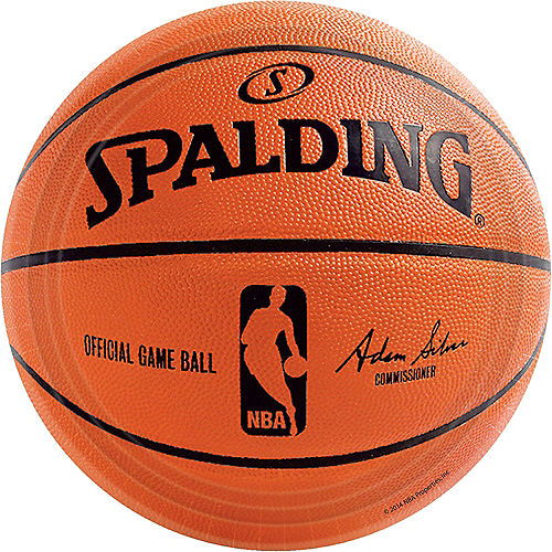 Spalding Basketball Lunch Plates 18ct Image #1