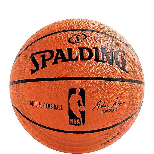 Spalding Basketball Dessert Plates 18ct Image #1