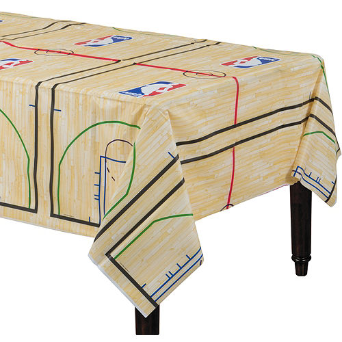 Spalding Basketball Court Table Cover Image #1