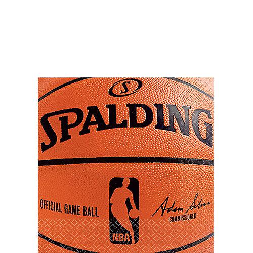 Spalding Basketball Beverage Napkins 36ct Image #1