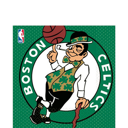 Boston Celtics Lunch Napkins 16ct Image #1