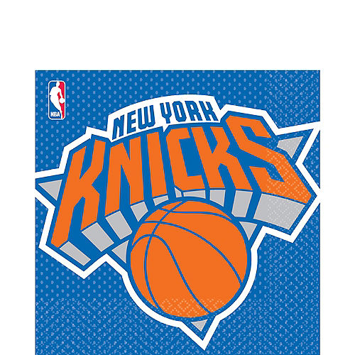 New York Knicks Lunch Napkins 16ct Image #1