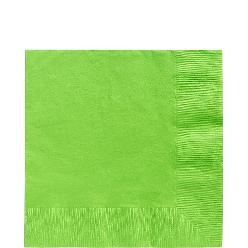 Kiwi Green Paper Lunch Napkins, 6.5in, 40ct Image #1