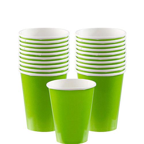 Kiwi Green Paper Cups 20ct Image #1