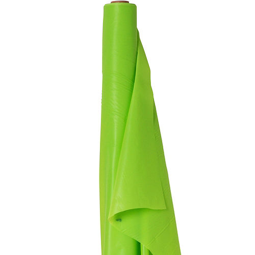Kiwi Green Plastic Table Cover Roll Image #1