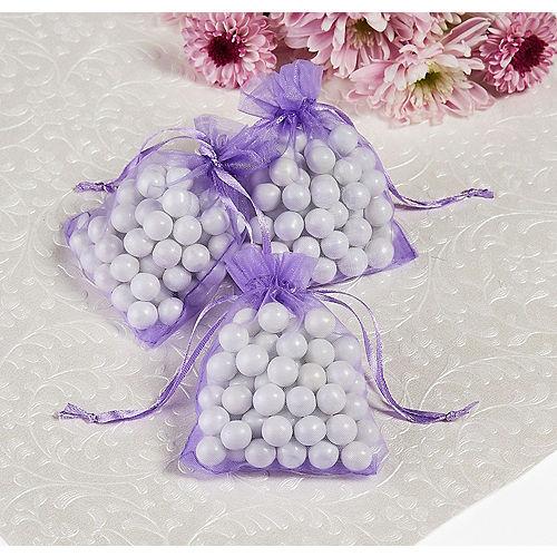 Lavender Organza Favor Bags Image #1