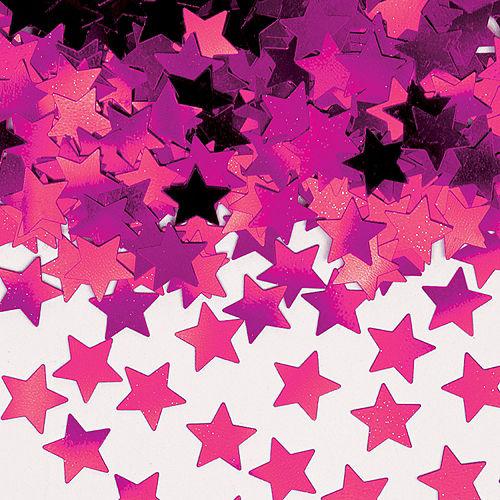 Mini Pink Star Confetti Image #1