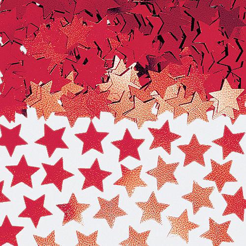 Mini Red Star Confetti Image #1