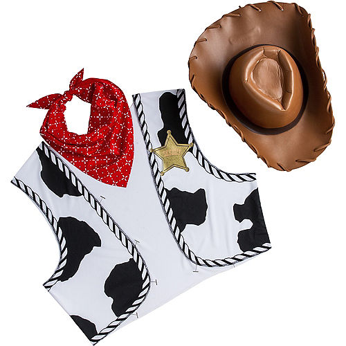 Adult Woody Accessory Kit - Toy Story Image #2