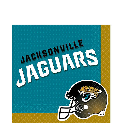 Jacksonville Jaguars Party Kit for 18 Guests Image #3