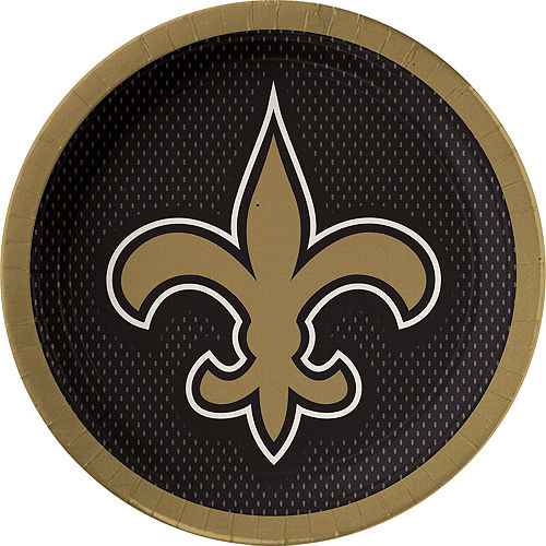NFL New Orleans Saints Party Kit for 18 Guests Image #2