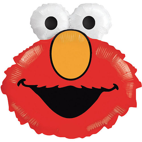 Elmo Balloon, 26in Image #1