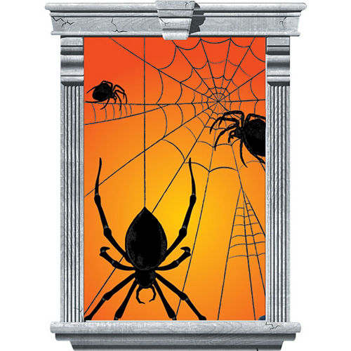 Spider Window Decorations 2ct Image #2