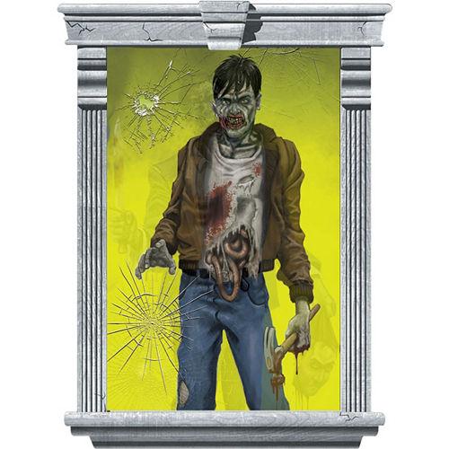Killer Zombie Window Decorations 2ct Image #2