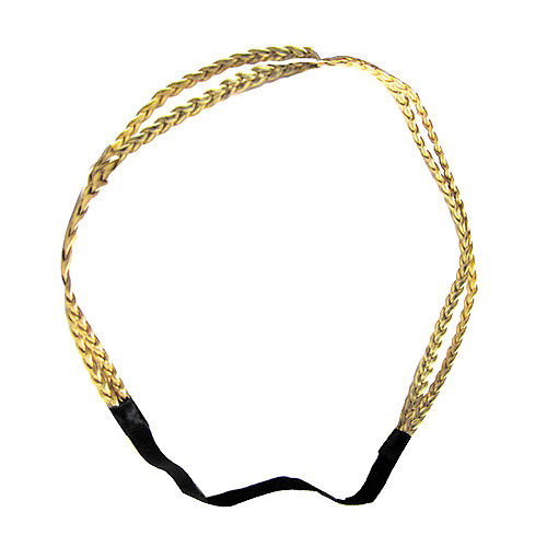 Gold Goddess Braids Headband Image #1