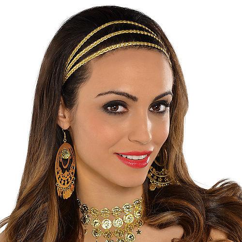 Gold Goddess Braids Headband Image #2