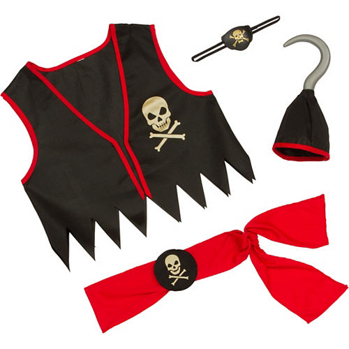 Child Pirate Accessory Kit Deluxe Image #2