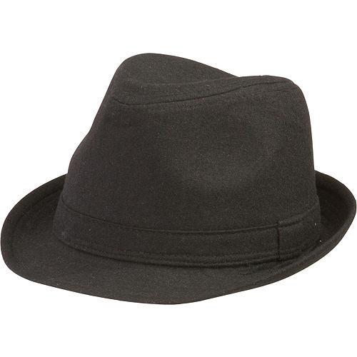 Black Fedora Hat Image #1