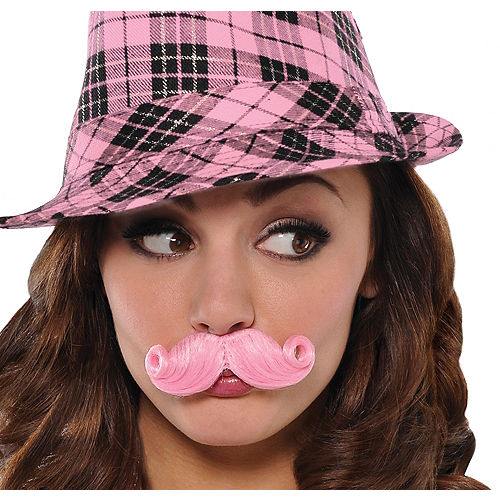 Pink Mini Handlebar Moustache Image #1