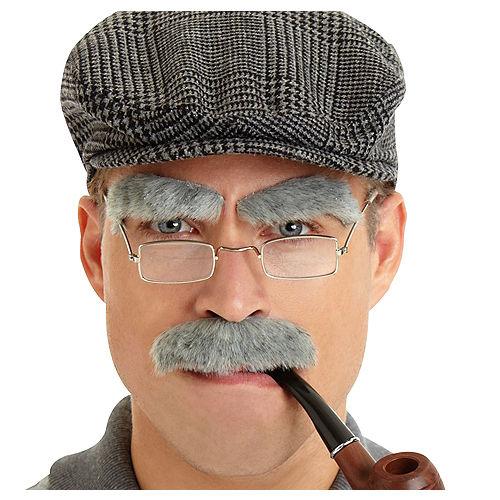 Grey Facial Hair Set Image #1