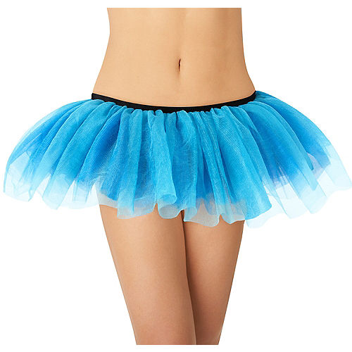 Nav Item for Adult Blue Tutu Image #1
