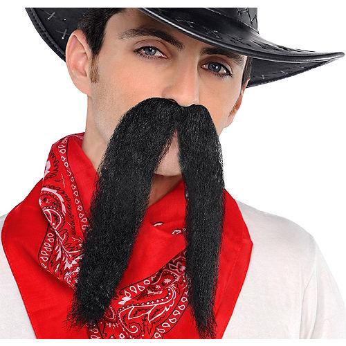 Black Cowboy Moustache Image #1