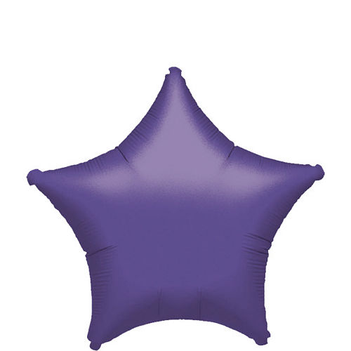 Purple Star Balloon, 19in Image #1
