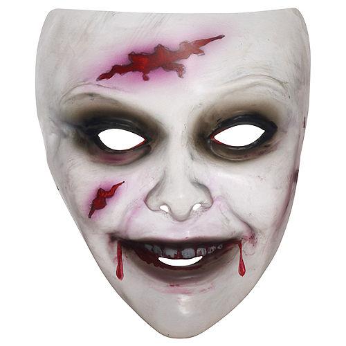 Zombie Woman Mask Image #1