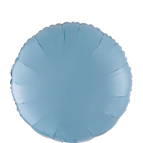 Nav Item for Pastel Blue Round Balloon Image #1