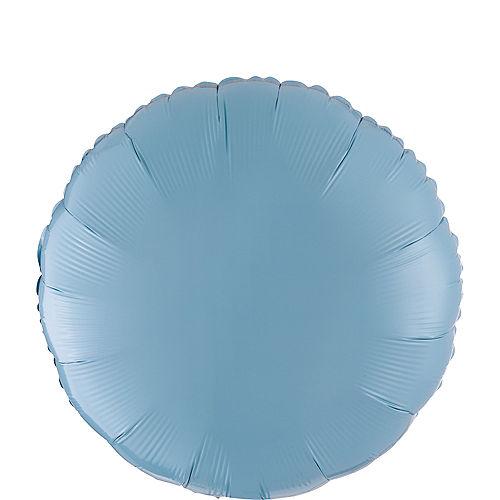 Pastel Blue Round Balloon Image #1