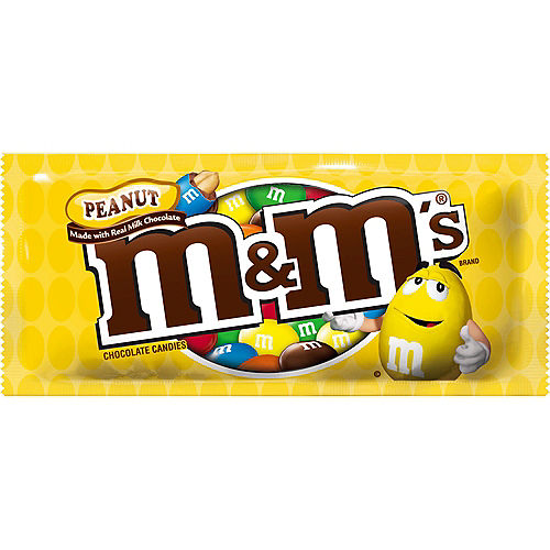 M&M's Chocolate Candies, 1.74oz - Peanut Image #1