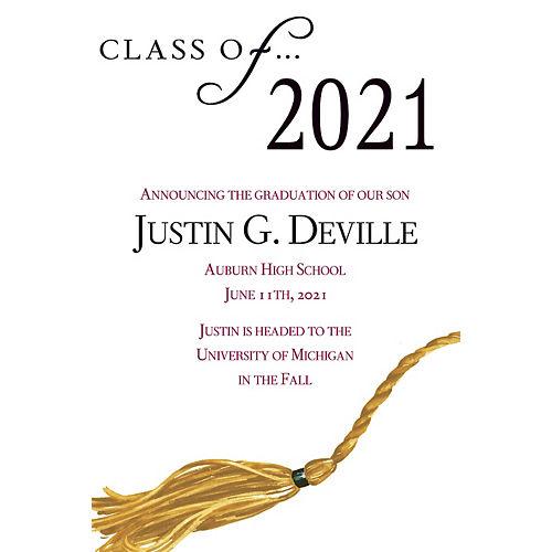 Custom Class Of Graduation Announcements  Image #1