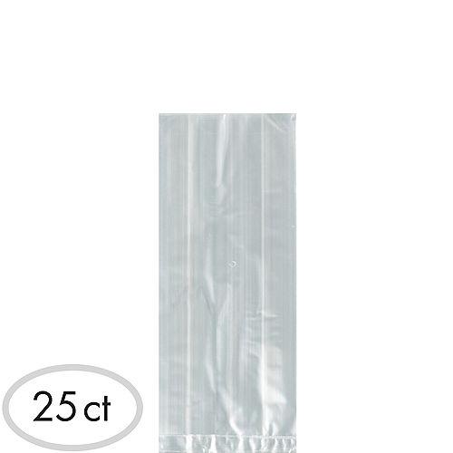 Medium CLEAR Plastic Treat Bags 25ct Image #1