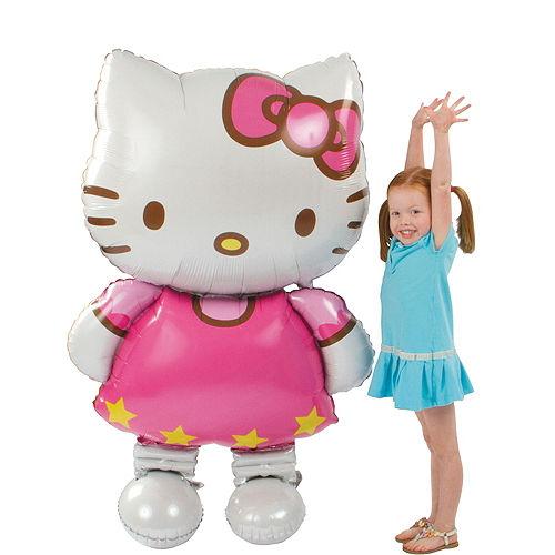 Giant Gliding Hello Kitty Balloon, 50in Image #1