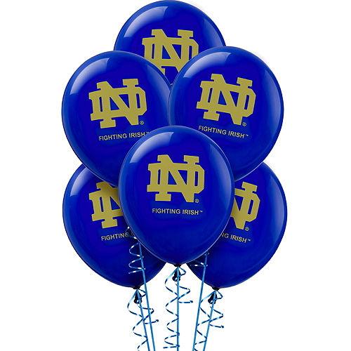 Notre Dame Fighting Irish Balloons 10ct Image #1