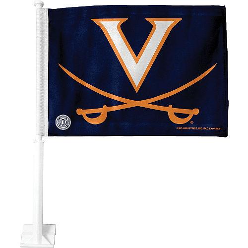 Virginia Cavaliers Car Flag Image #1