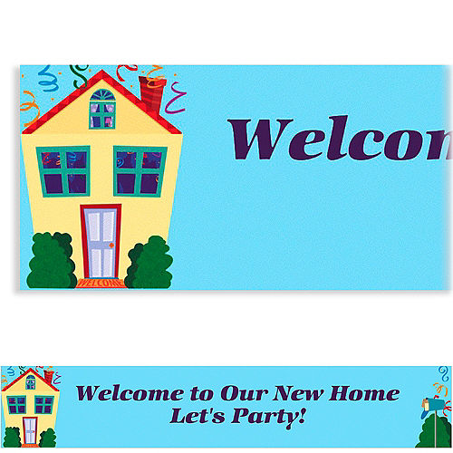 Custom Housewarming Banner 6ft Image #1