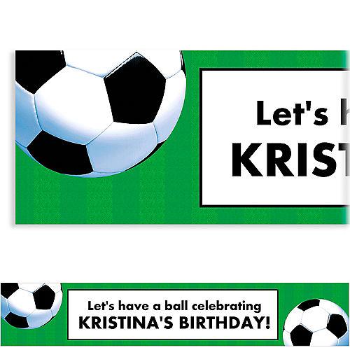 Custom Soccer Fan Banner 6ft Image #1
