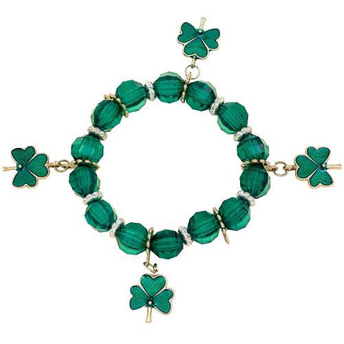Stretch St. Patrick's Day Charm Bracelet Image #1