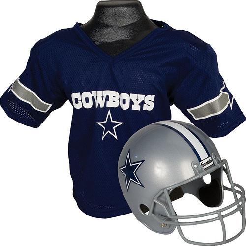 Dallas Cowboys Helmet Jersey Set Image #1