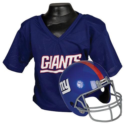 Child New York Giants Helmet & Jersey Set Image #1
