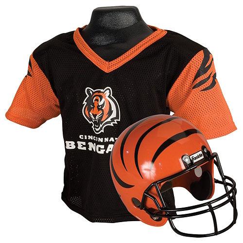 Child Cincinnati Bengals Helmet & Jersey Set Image #1