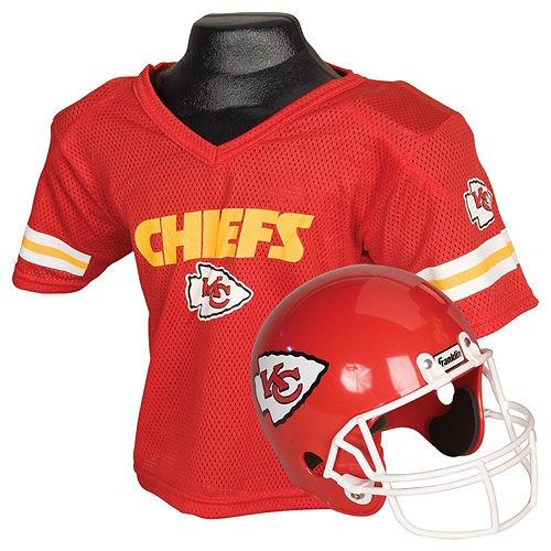 Child Kansas City Chiefs Helmet & Jersey Set Image #1