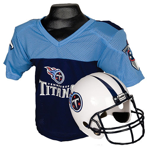 Child Tennessee Titans Helmet & Jersey Set Image #1