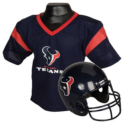 Child Houston Texans Helmet & Jersey Set Image #1